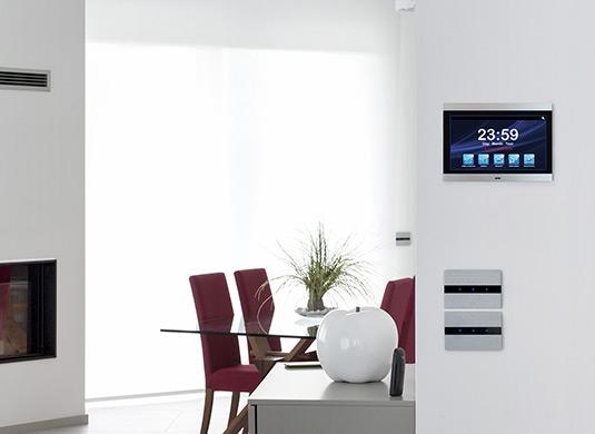 Videocitofonia con touch screen interattivi