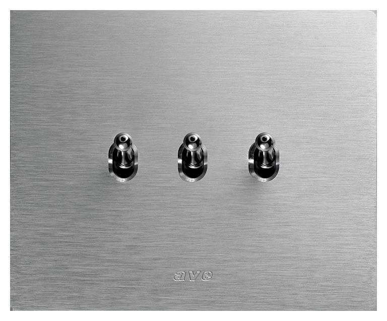 Interruttore levette alluminio KNX