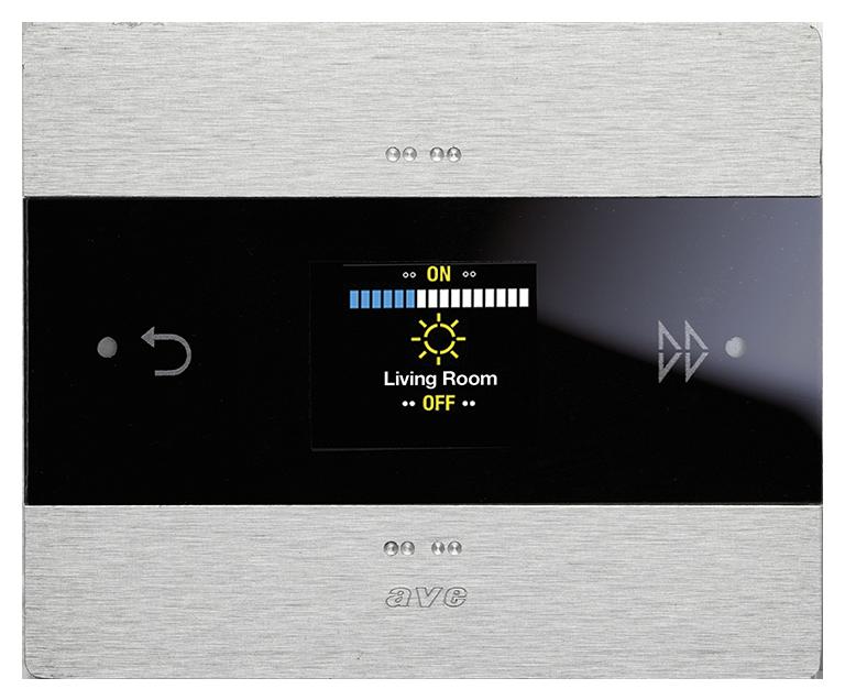 Room Controller alluminio KNX